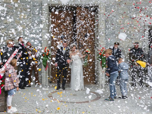 Il matrimonio di Martino e Daniela a Canazei, Trento 15