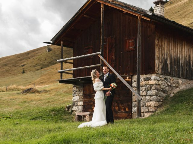Il matrimonio di Martino e Daniela a Canazei, Trento 19