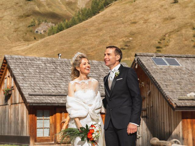 Il matrimonio di Martino e Daniela a Canazei, Trento 2