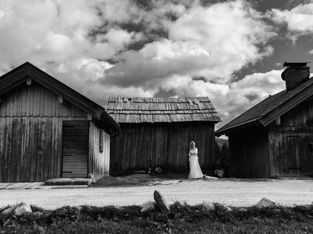 Il matrimonio di Martino e Daniela a Canazei, Trento 27