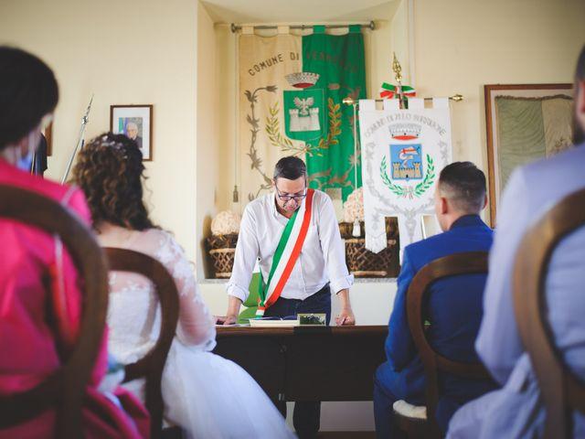 Il matrimonio di Davide e Vanessa a Gaggiano, Milano 29