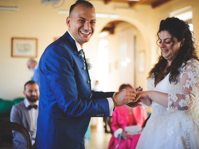 Il matrimonio di Davide e Vanessa a Gaggiano, Milano 31