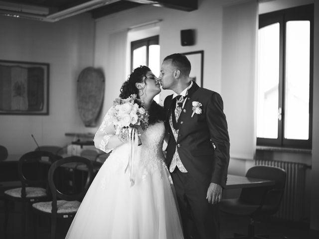 Il matrimonio di Davide e Vanessa a Gaggiano, Milano 32