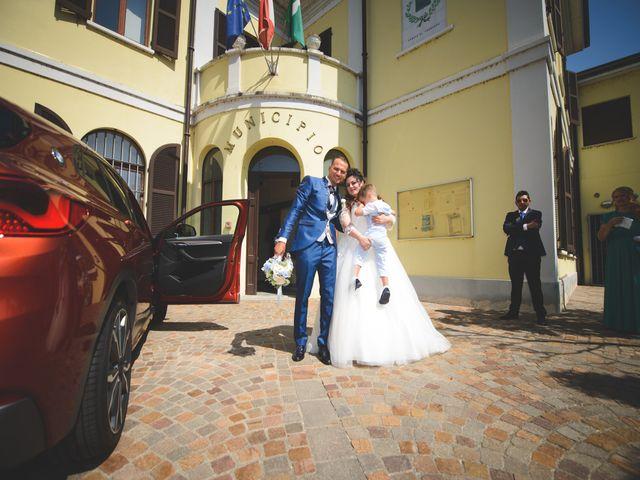 Il matrimonio di Davide e Vanessa a Gaggiano, Milano 34