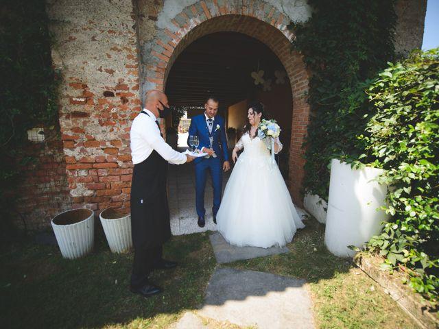 Il matrimonio di Davide e Vanessa a Gaggiano, Milano 38