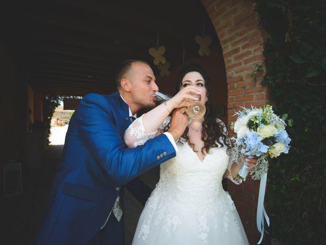 Il matrimonio di Davide e Vanessa a Gaggiano, Milano 39