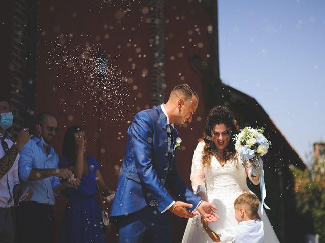 Il matrimonio di Davide e Vanessa a Gaggiano, Milano 41