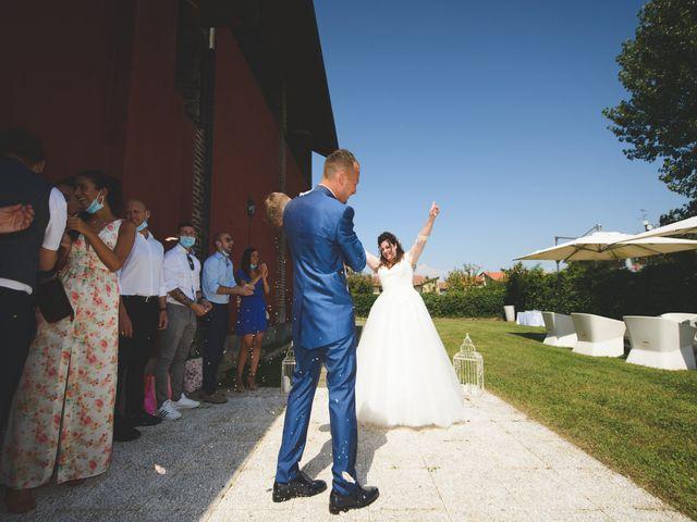 Il matrimonio di Davide e Vanessa a Gaggiano, Milano 42