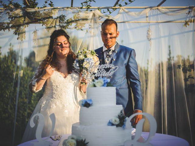 Il matrimonio di Davide e Vanessa a Gaggiano, Milano 103