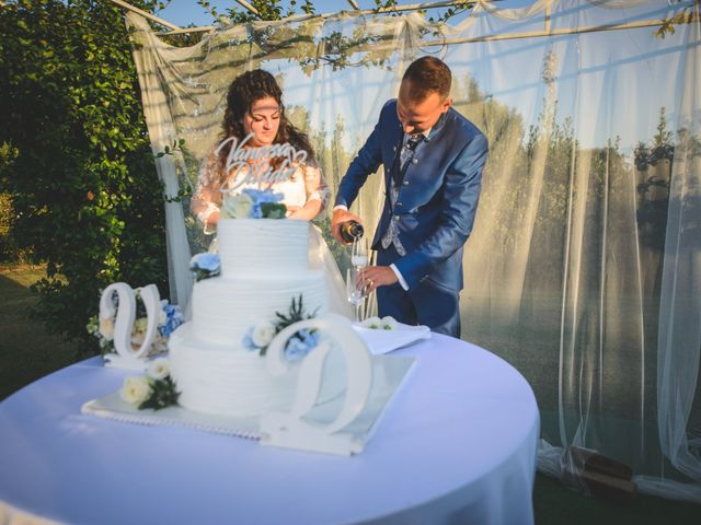 Il matrimonio di Davide e Vanessa a Gaggiano, Milano 105