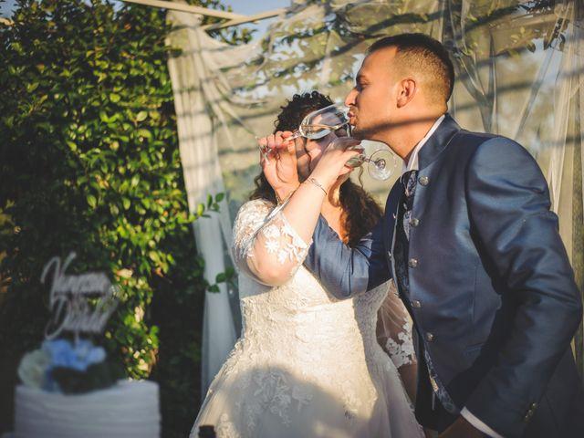 Il matrimonio di Davide e Vanessa a Gaggiano, Milano 106