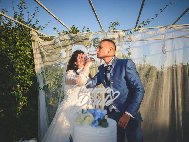 Il matrimonio di Davide e Vanessa a Gaggiano, Milano 107