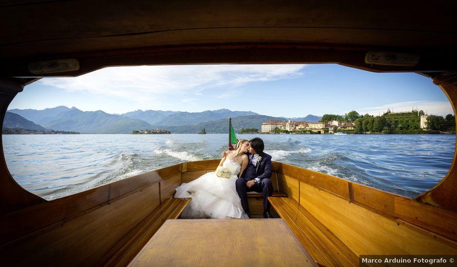 Il matrimonio di Marcello e Clara a Stresa, Verbania