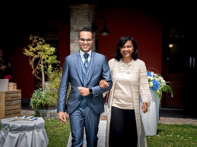 Il matrimonio di Bernard e Alice a Sant'Omobono Imagna, Bergamo 50