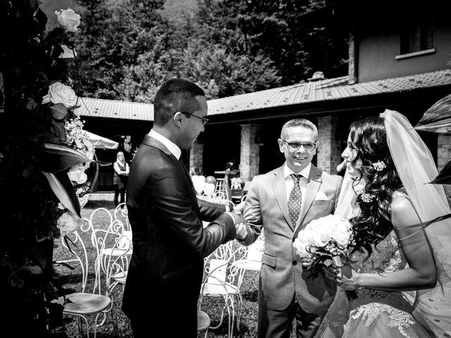 Il matrimonio di Bernard e Alice a Sant'Omobono Imagna, Bergamo 64