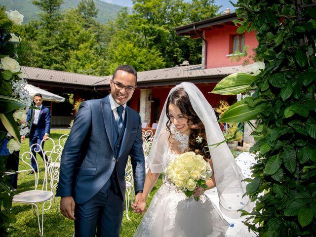 Il matrimonio di Bernard e Alice a Sant'Omobono Imagna, Bergamo 66