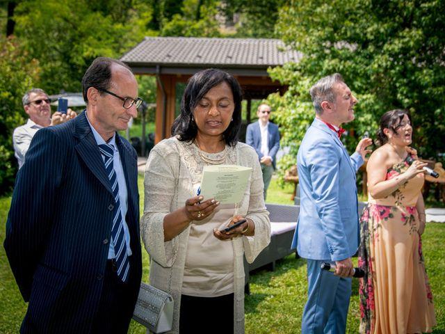 Il matrimonio di Bernard e Alice a Sant'Omobono Imagna, Bergamo 73