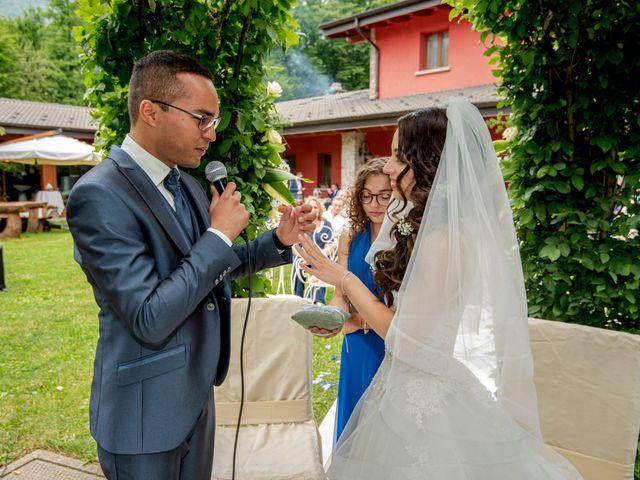 Il matrimonio di Bernard e Alice a Sant'Omobono Imagna, Bergamo 77