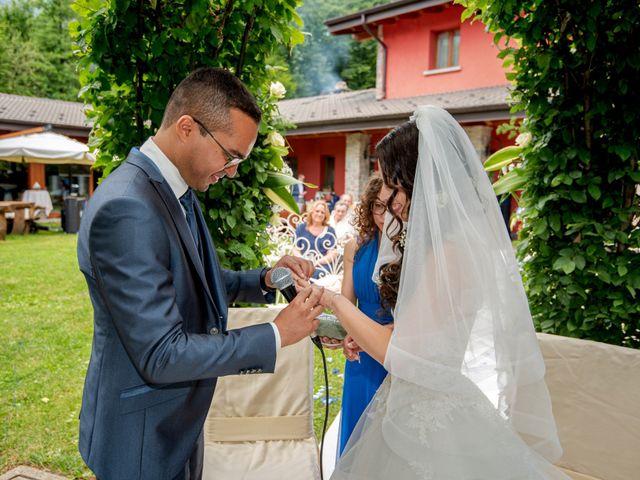 Il matrimonio di Bernard e Alice a Sant'Omobono Imagna, Bergamo 78