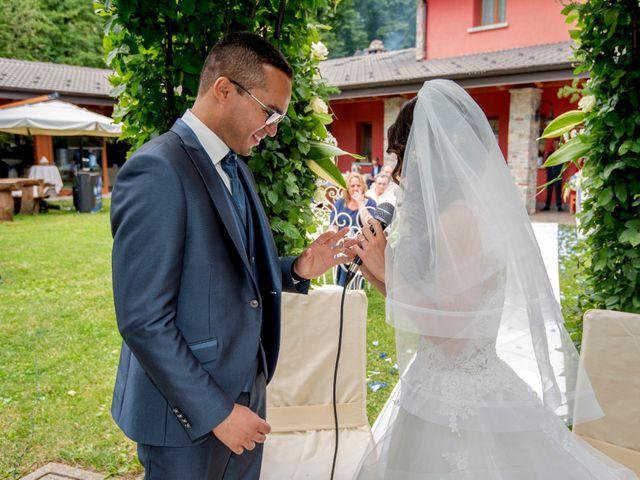 Il matrimonio di Bernard e Alice a Sant'Omobono Imagna, Bergamo 80