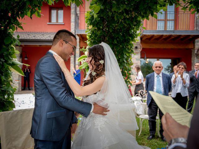 Il matrimonio di Bernard e Alice a Sant'Omobono Imagna, Bergamo 82