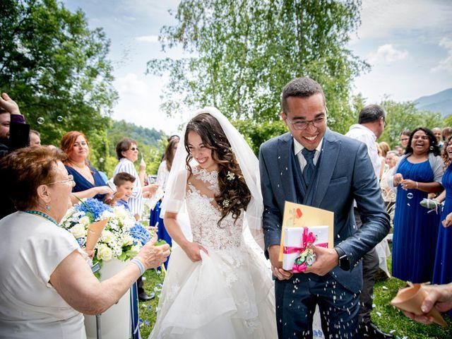 Il matrimonio di Bernard e Alice a Sant'Omobono Imagna, Bergamo 90