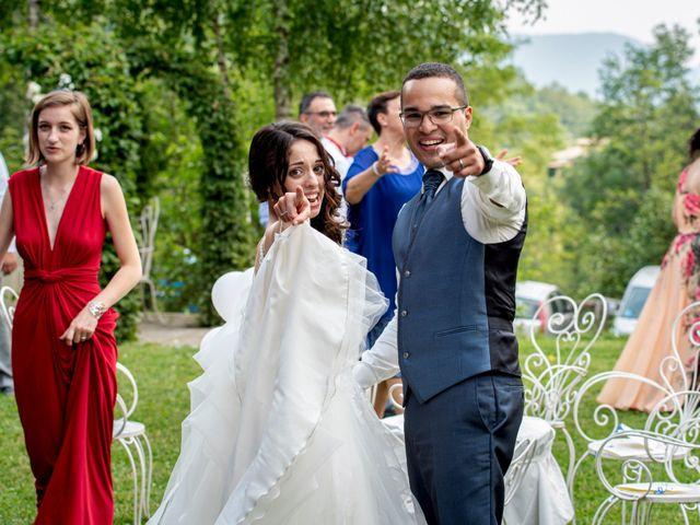 Il matrimonio di Bernard e Alice a Sant'Omobono Imagna, Bergamo 101