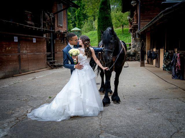 Il matrimonio di Bernard e Alice a Sant'Omobono Imagna, Bergamo 108