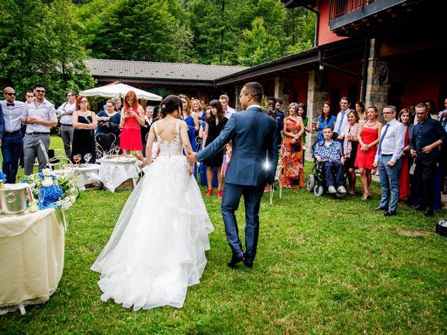 Il matrimonio di Bernard e Alice a Sant'Omobono Imagna, Bergamo 144