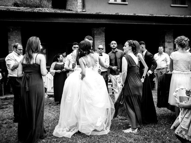 Il matrimonio di Bernard e Alice a Sant'Omobono Imagna, Bergamo 148