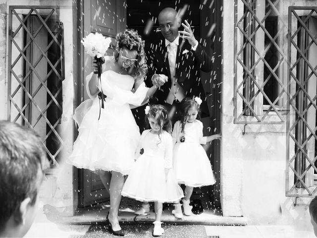 le nozze di Pamela e Alessio