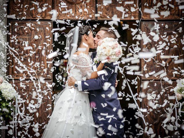 Il matrimonio di Stefano e Sara a Cucciago, Como 17