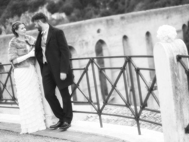 Il matrimonio di Sergio e Cristina a Spoleto, Perugia 9