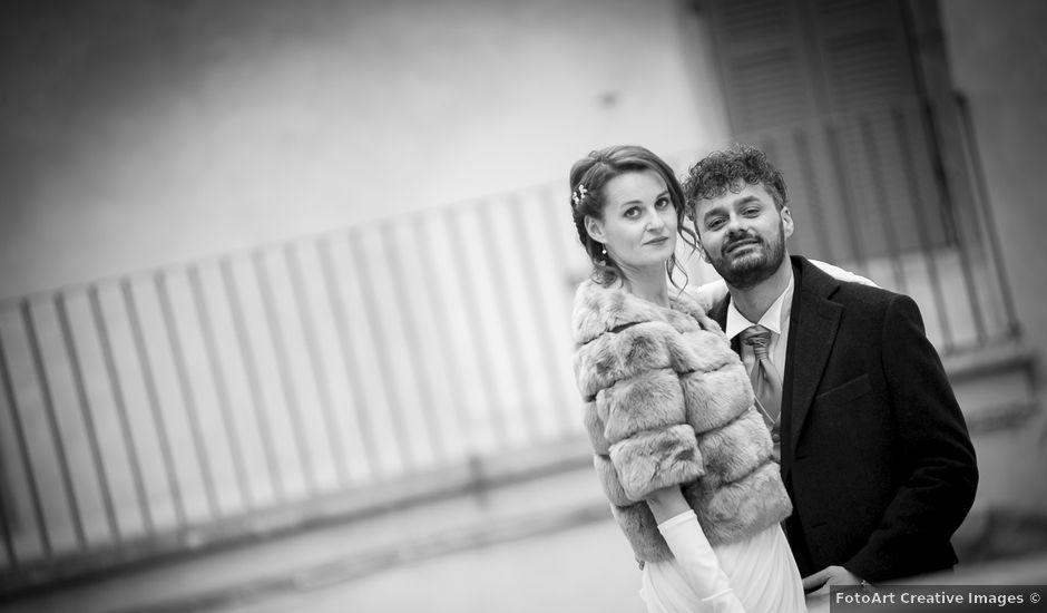 Il matrimonio di Sergio e Cristina a Spoleto, Perugia
