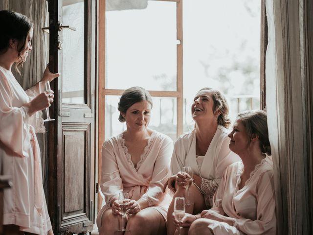 Il matrimonio di Chantelle e Luke a Fiumicino, Roma 9