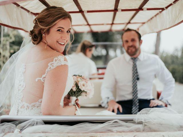 Il matrimonio di Chantelle e Luke a Fiumicino, Roma 24
