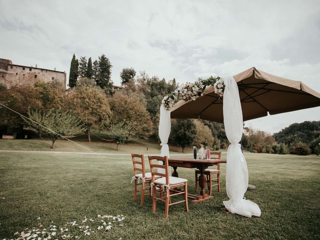 Il matrimonio di Chantelle e Luke a Fiumicino, Roma 25