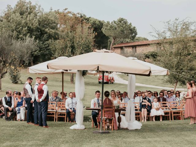 Il matrimonio di Chantelle e Luke a Fiumicino, Roma 30