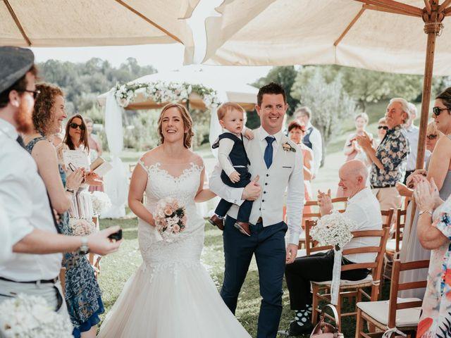 Il matrimonio di Chantelle e Luke a Fiumicino, Roma 35