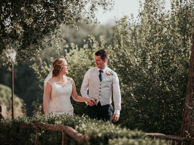 Il matrimonio di Chantelle e Luke a Fiumicino, Roma 42