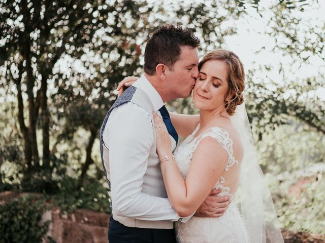 Il matrimonio di Chantelle e Luke a Fiumicino, Roma 43