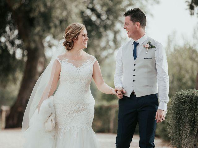Il matrimonio di Chantelle e Luke a Fiumicino, Roma 44