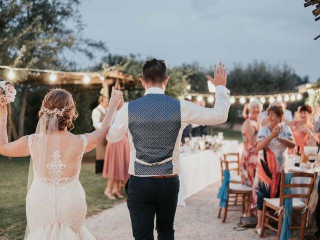 Il matrimonio di Chantelle e Luke a Fiumicino, Roma 51