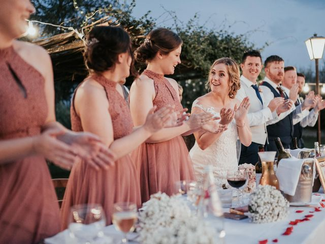 Il matrimonio di Chantelle e Luke a Fiumicino, Roma 52