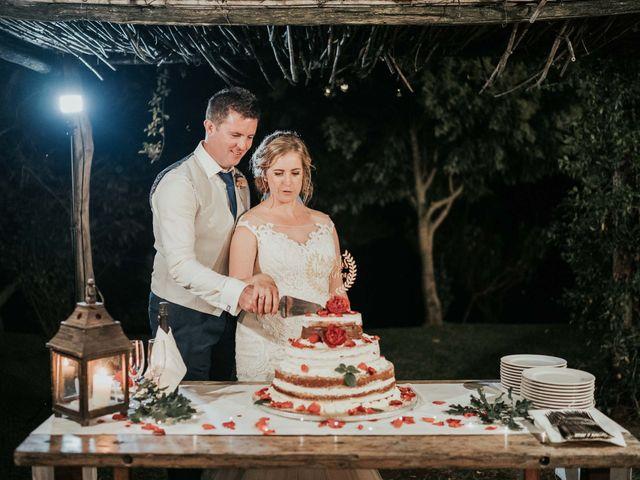 Il matrimonio di Chantelle e Luke a Fiumicino, Roma 55