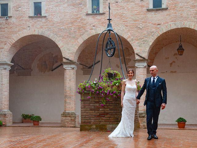 Il matrimonio di Vanessa e Gianluca a Montecassiano, Macerata 69