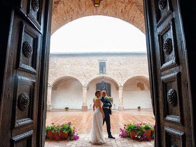 Il matrimonio di Vanessa e Gianluca a Montecassiano, Macerata 70