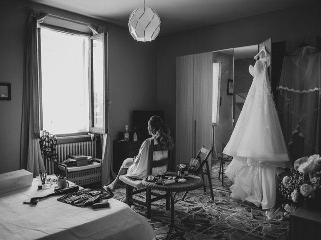 Il matrimonio di Jonathan e Martina a Castelfiorentino, Firenze 2