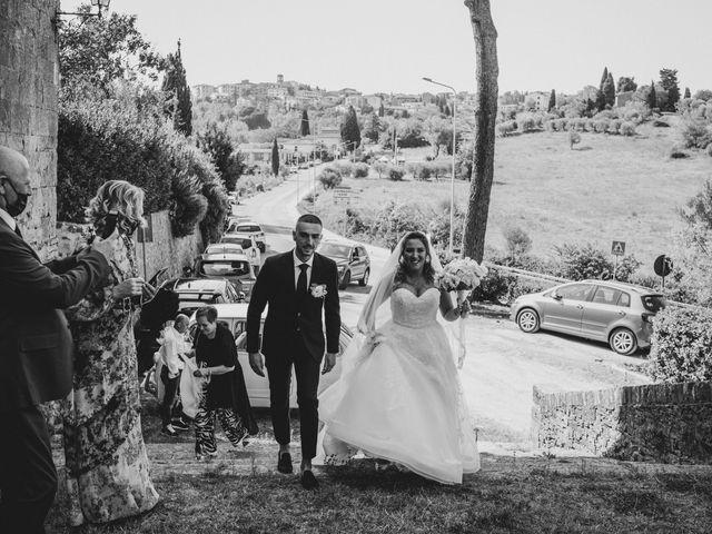 Il matrimonio di Jonathan e Martina a Castelfiorentino, Firenze 20
