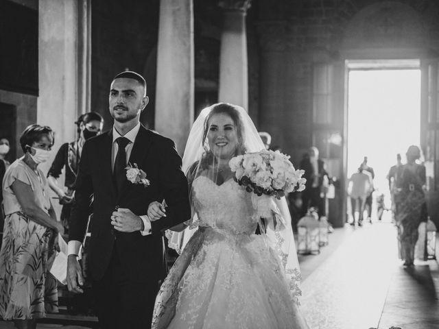 Il matrimonio di Jonathan e Martina a Castelfiorentino, Firenze 23